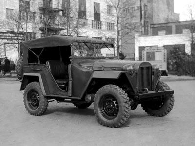 Советский внедорожник ГАЗ 67