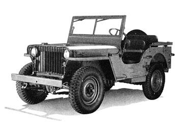 Джип Jeep CJ2A