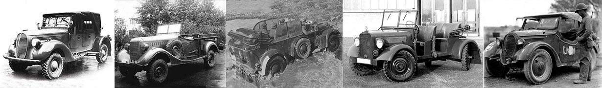 Внедорожники Второй мировой войны